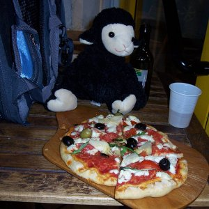 Pizza bei Pina