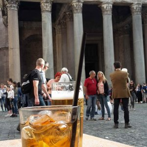 Aperitivo am Pantheon