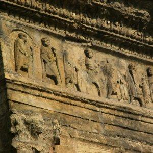 Nordseite, Herakles und Athene | Rom-Forum