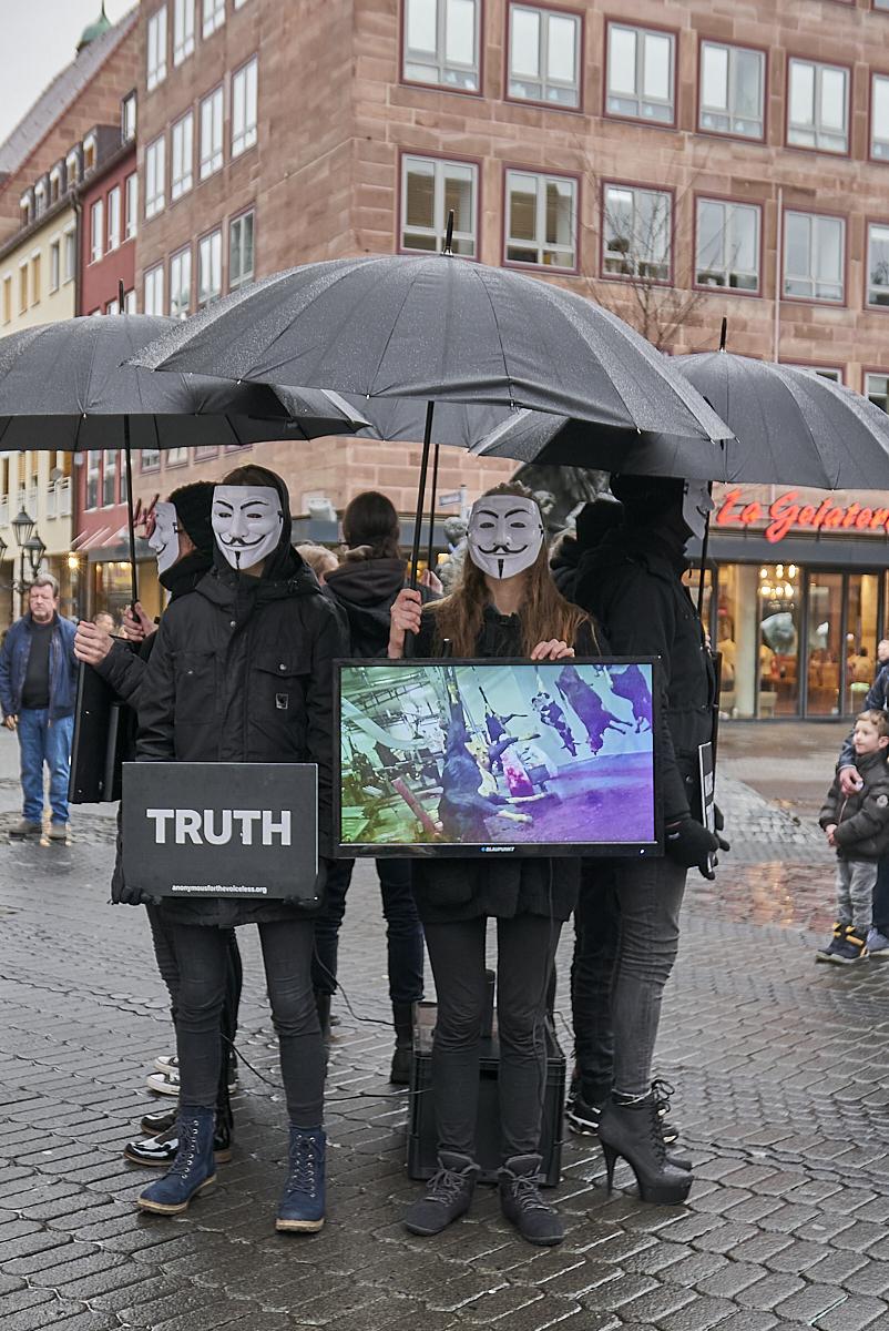 Demonstration Nürnberg Heute