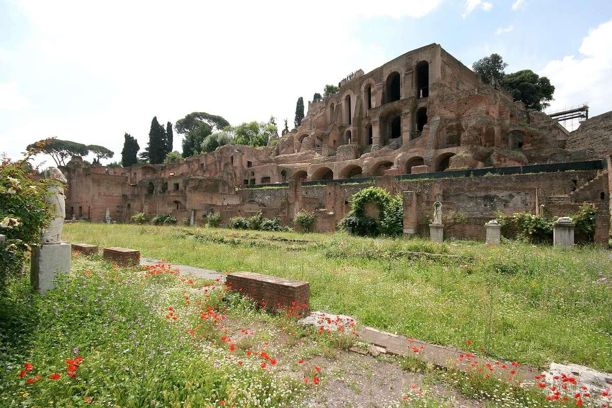 Rom Gruppenreise 21. 21. Juni 20021   Rom Forum