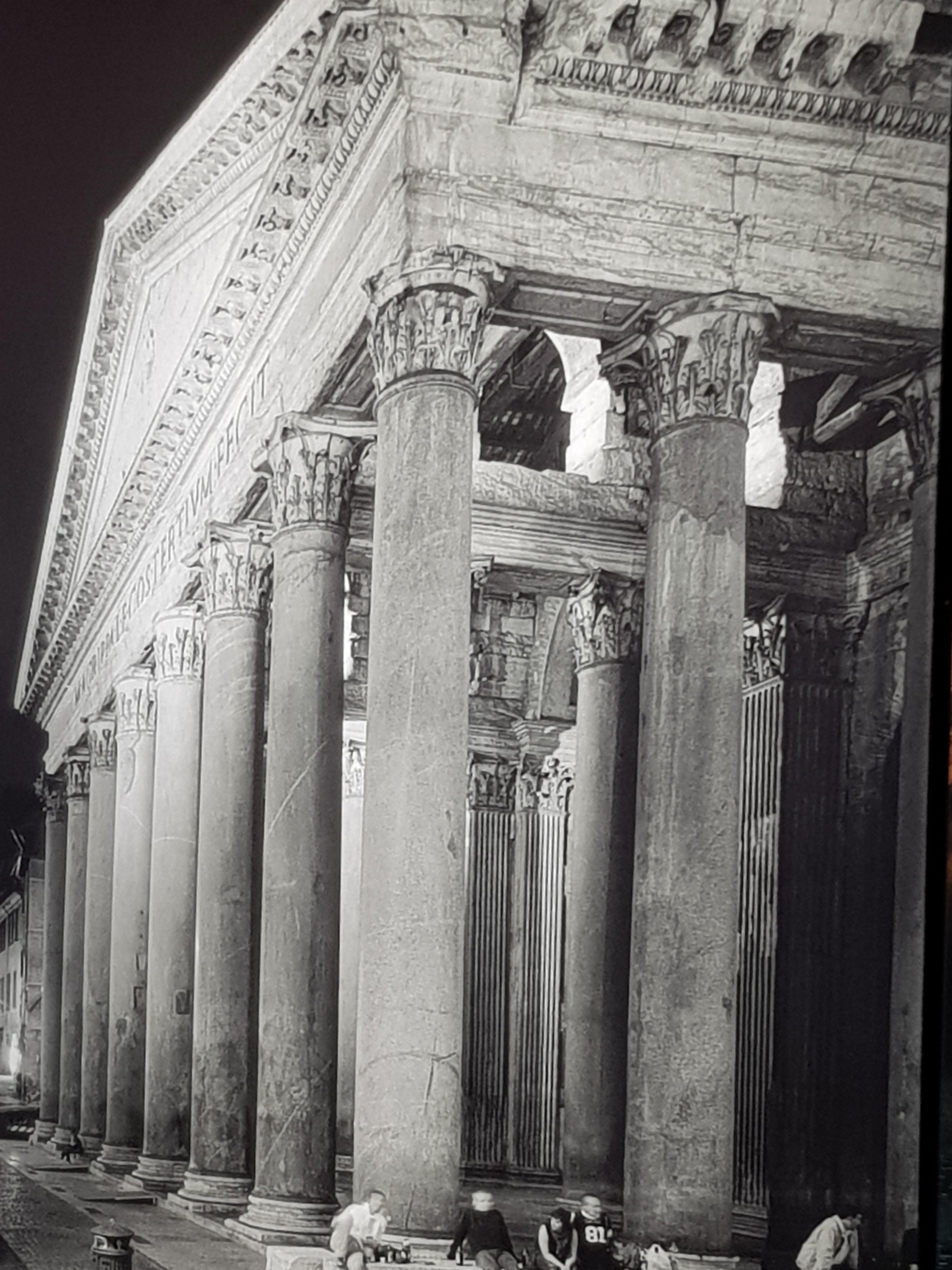 Pantheon-Foto an FCO