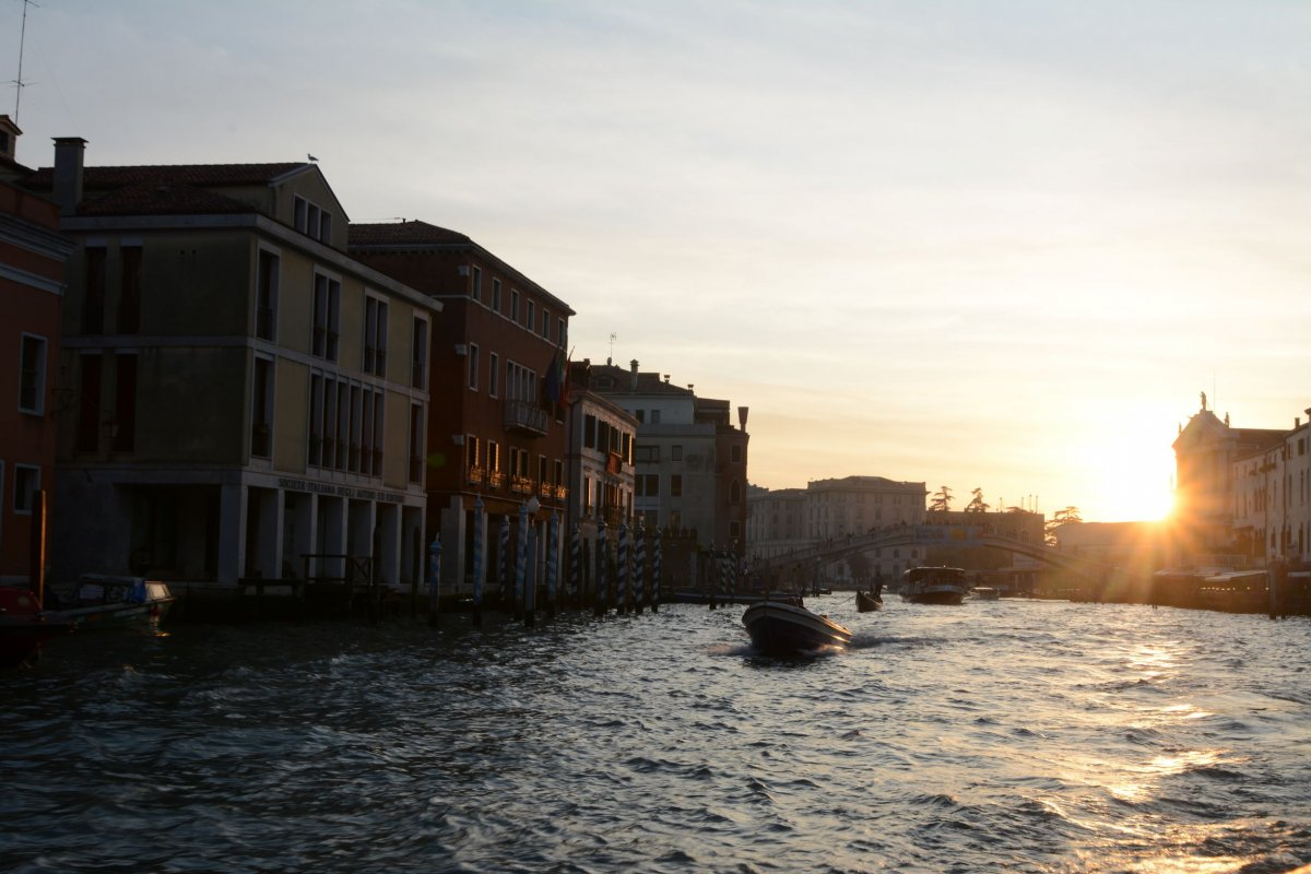 Tagesausklang Canal Grande